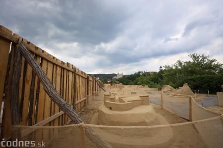 Foto a video: Obrovské pieskové sochy v Bojniciach budete môcť vidieť už od zajtra 27.6. 6