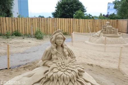 Foto a video: Obrovské pieskové sochy v Bojniciach budete môcť vidieť už od zajtra 27.6. 7