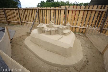 Foto a video: Obrovské pieskové sochy v Bojniciach budete môcť vidieť už od zajtra 27.6. 17