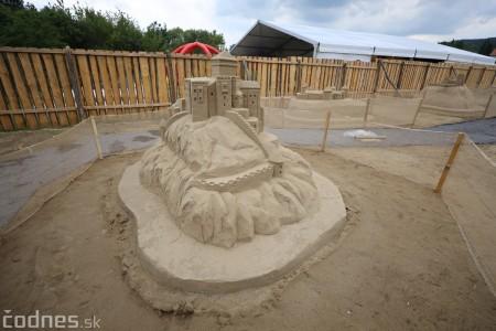 Foto a video: Obrovské pieskové sochy v Bojniciach budete môcť vidieť už od zajtra 27.6. 18