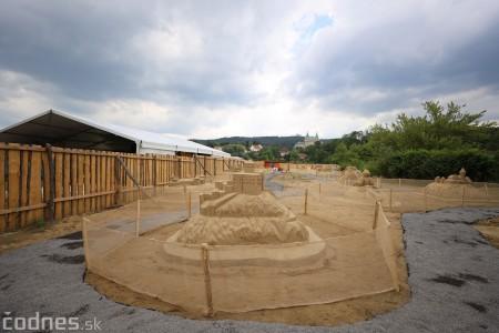 Foto a video: Obrovské pieskové sochy v Bojniciach budete môcť vidieť už od zajtra 27.6. 19