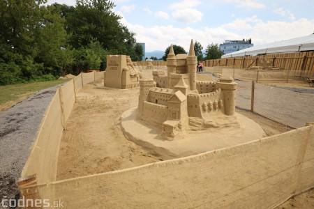 Foto a video: Obrovské pieskové sochy v Bojniciach budete môcť vidieť už od zajtra 27.6. 22