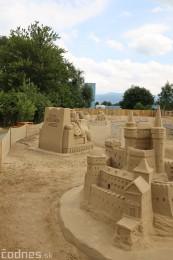 Foto a video: Obrovské pieskové sochy v Bojniciach budete môcť vidieť už od zajtra 27.6. 23
