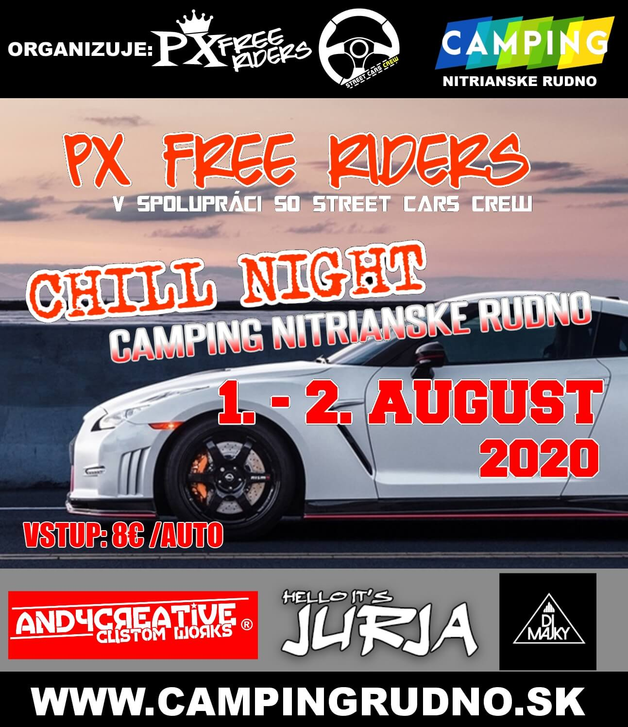 PX free riders | chill night