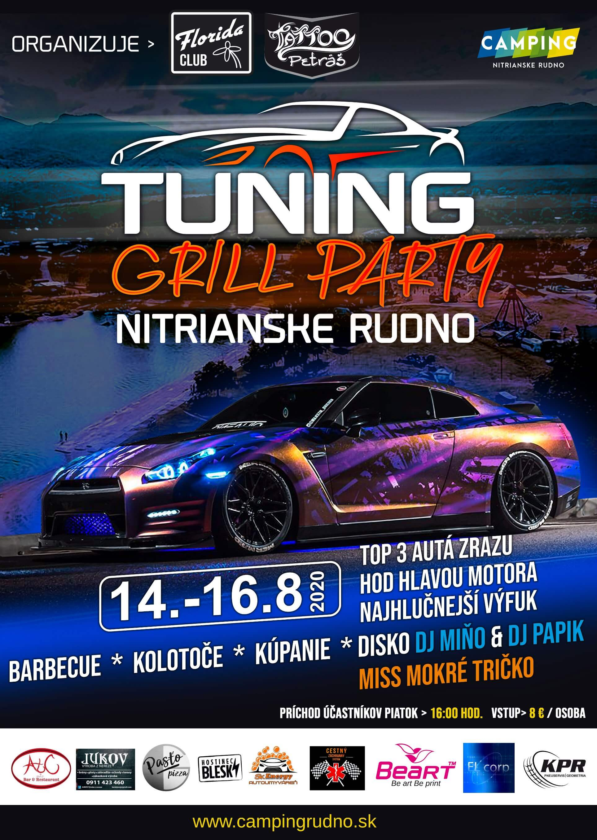 Zrušené - Tuning grill party
