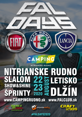 Faldays - Zraz milovníkov Fiat, Alfa Romeo, Lancia.