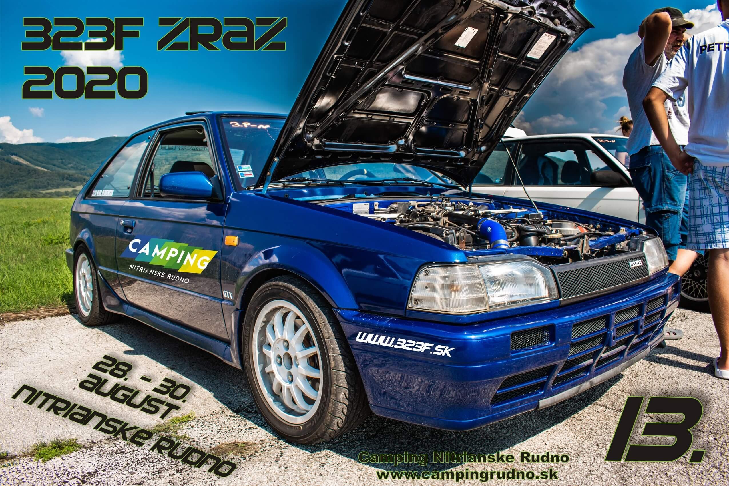 323f klub Mazda zraz