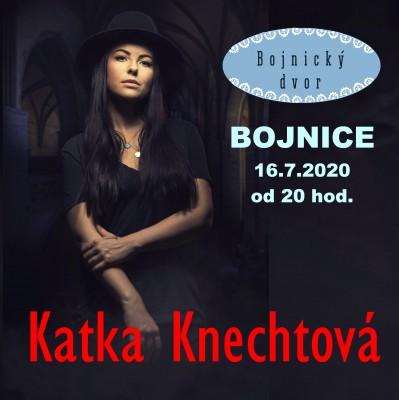 Koncert KATKA KNECHTOVÁ - Bojnice 2020
