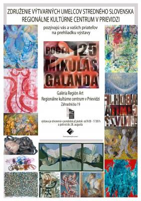 Zem Slovensko XV. - Pocta 125 Mikuláš Galanda