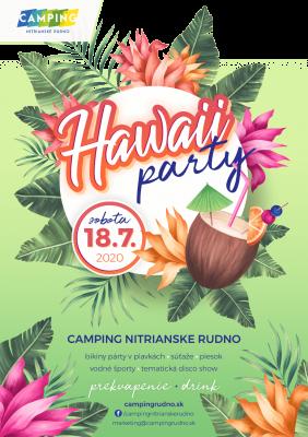 Hawaii Party v Campingu Nitrianske Rudno