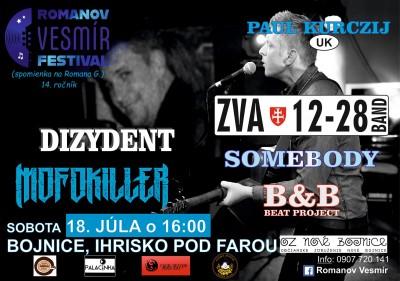 Romanov Vesmír 2020 - koncert