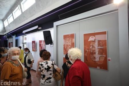 Foto: Vernisáž výstavy - Amália Lomnická - Stvárňovanie 47