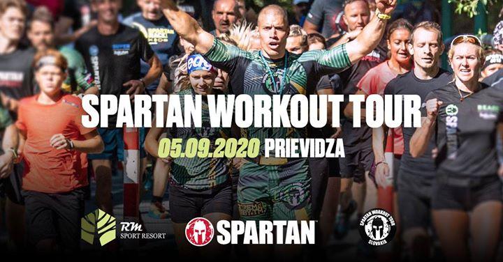 Spartan Workout Tour Prievidza 2020