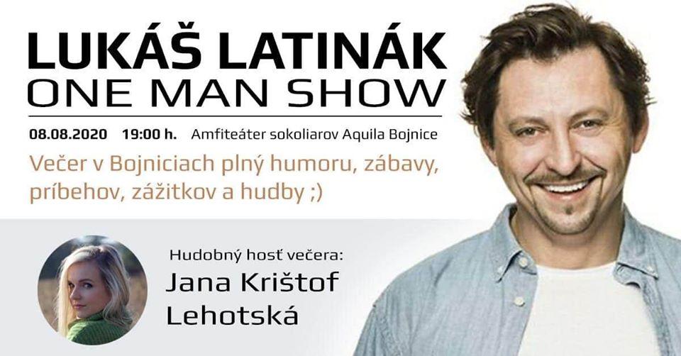 Lukáš Latinák - One man show - Bojnice