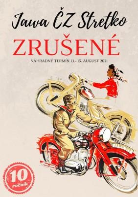 Jawa ČZ Stretko 2020 - Tužina - preložené na rok 2021