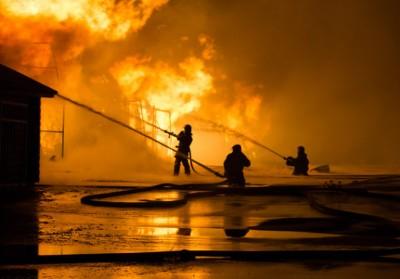 Foto: Nočná tragédia - Domov dôchodcov v Zemianskych Kostoľanoch (okres Prievidza) v noci zachvátil požiar, dvaja ľudia zomreli