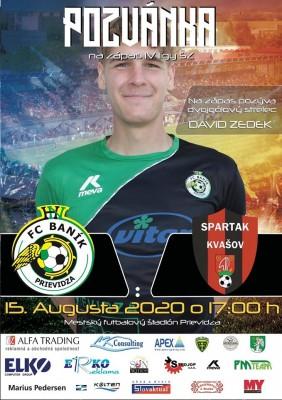 Futbal: FC Baník Prievidza - Spartak Kvašov