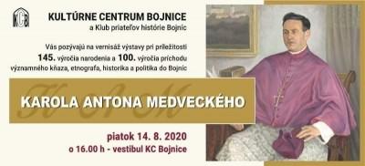 Výstava  Karol Anton Medvecký