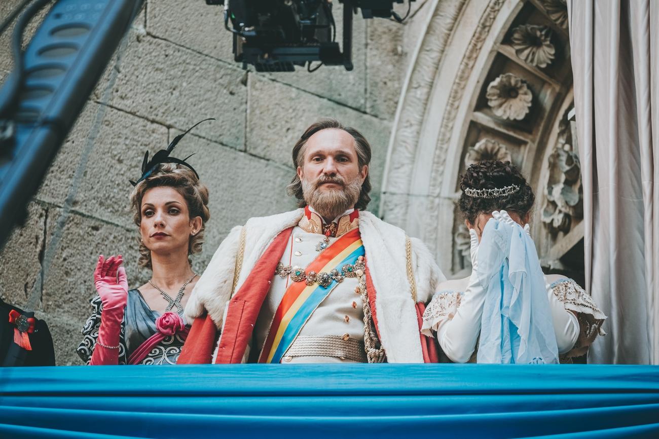 Foto: RTVS práve nakrúca na Bojnickom zámku novú rozprávku O liečivej vode. Preméra bude počas vianočných sviatkov.