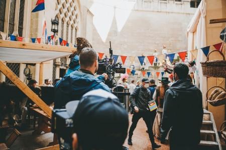 Foto: RTVS práve nakrúca na Bojnickom zámku novú rozprávku O liečivej vode. Preméra bude počas vianočných sviatkov. 27