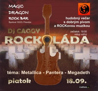 Rockoláda (DJ Caggy // Magic Dragon Rock bar)