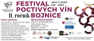 Festival poctivých vín - Bojnice 2020