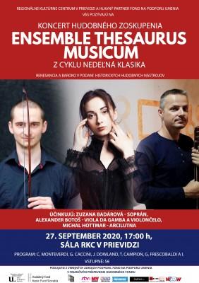 Nedeľná klasika: Ensemble Thesaurus Musicum