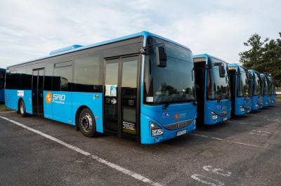 Foto a video: Vozový park prievidzskej SAD sa rozrástol o 6 nových autobusov