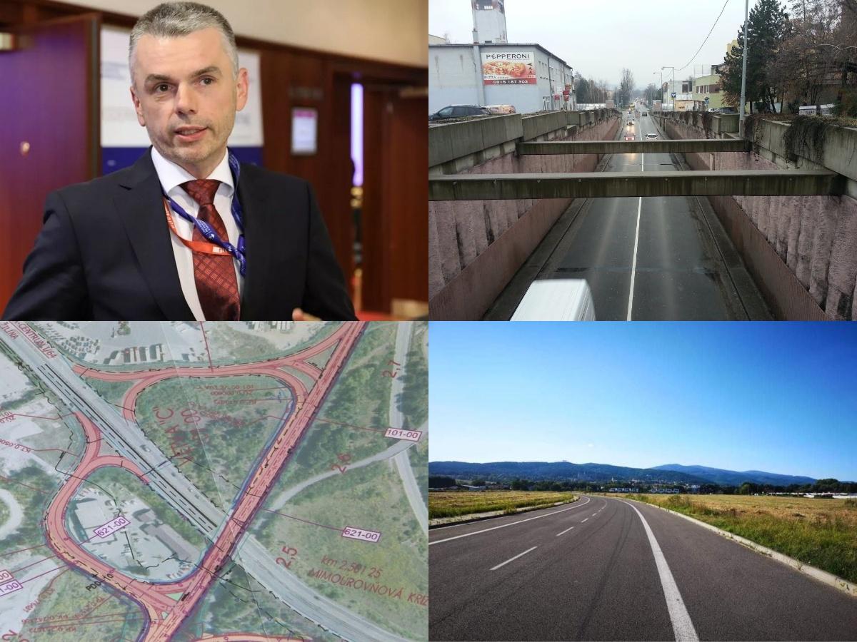 Prvú etapu obchvatu Prievidze by mali dobudovať do konca roka 2023. Opravou by mali prejsť tiež viaceré úseky ciest v regióne hornej Nitry.