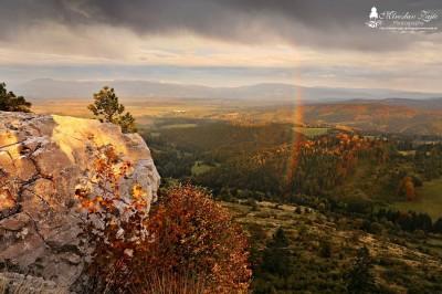 Foto: Vyšehrad na jeseň