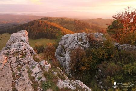 Foto: Vyšehrad na jeseň - tip na výlet - túra 1