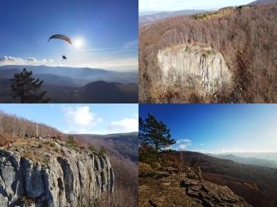 Foto a video: Jesenná Jančekova skala