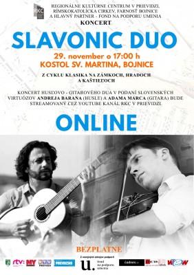 ONLINE koncert Slavonic Duo