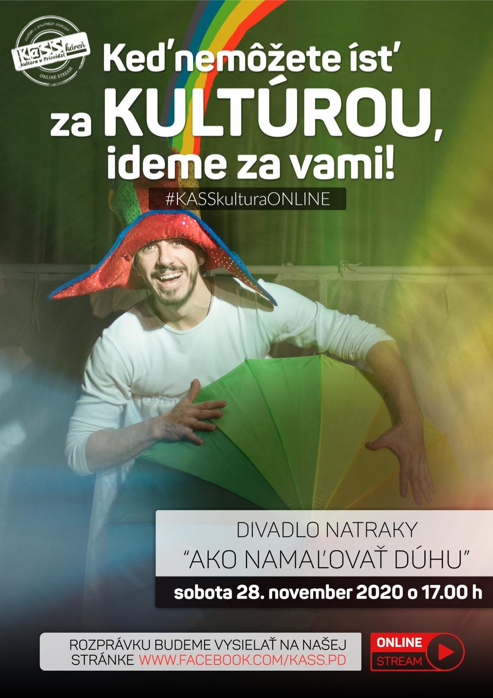 Divadlo NAtraKY - Ako namaľovať dúhu  (online stream)