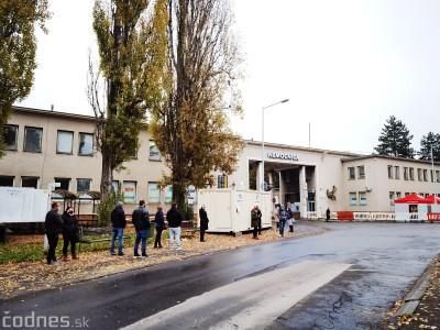 Na odberne miesto pred nemocnicou v Bojniciach sa budete môcť na testovanie objednať.