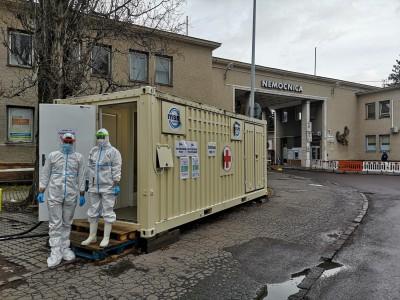 Bojnice: Mobilné odberové miesto - MOM pri bojnickej nemocnici bude fungovať i počas víkendu