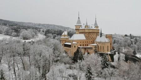 Foto: Bojnický zámok a Bojnice v zime 3