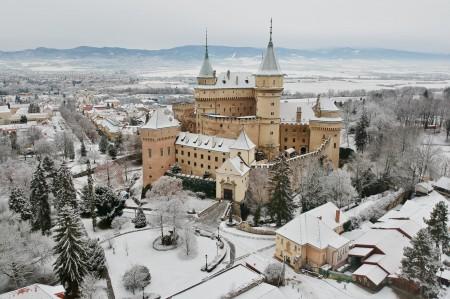 Foto: Bojnický zámok a Bojnice v zime 4