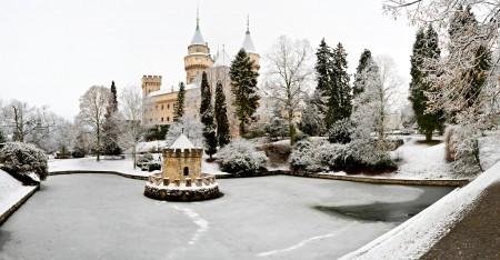 Foto: Bojnický zámok a Bojnice v zime 5