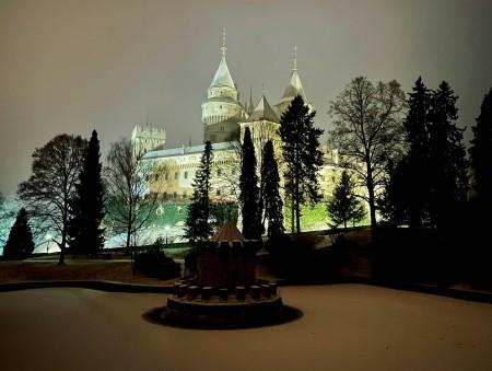 Foto: Bojnický zámok a Bojnice v zime 7