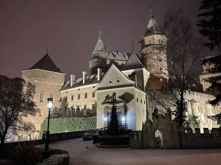 Foto: Bojnický zámok a Bojnice v zime 8