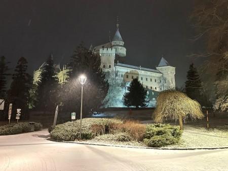 Foto: Bojnický zámok a Bojnice v zime 10