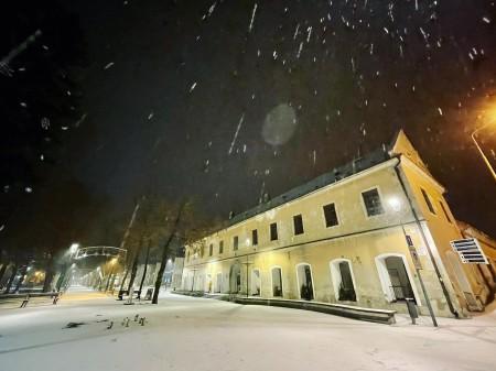 Foto: Bojnický zámok a Bojnice v zime 12