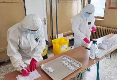 Výsledky testovania mesto Prievidza: Za sobotu sa otestovalo 5525 osôb, z toho 47 testov bolo pozitívnych. Okres Prievidza