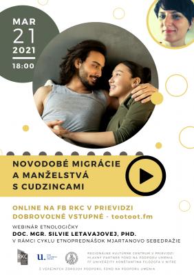 ONLINE: Novodobé migrácie a manželstvá s cudzincami 2021
