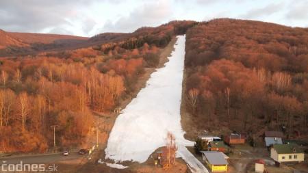 Foto: Cigeľ - lyžiarske stredisko - západ slnka - tip na výlet - túra 0