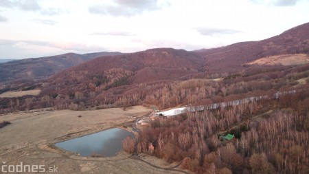 Foto: Cigeľ - lyžiarske stredisko - západ slnka - tip na výlet - túra 14
