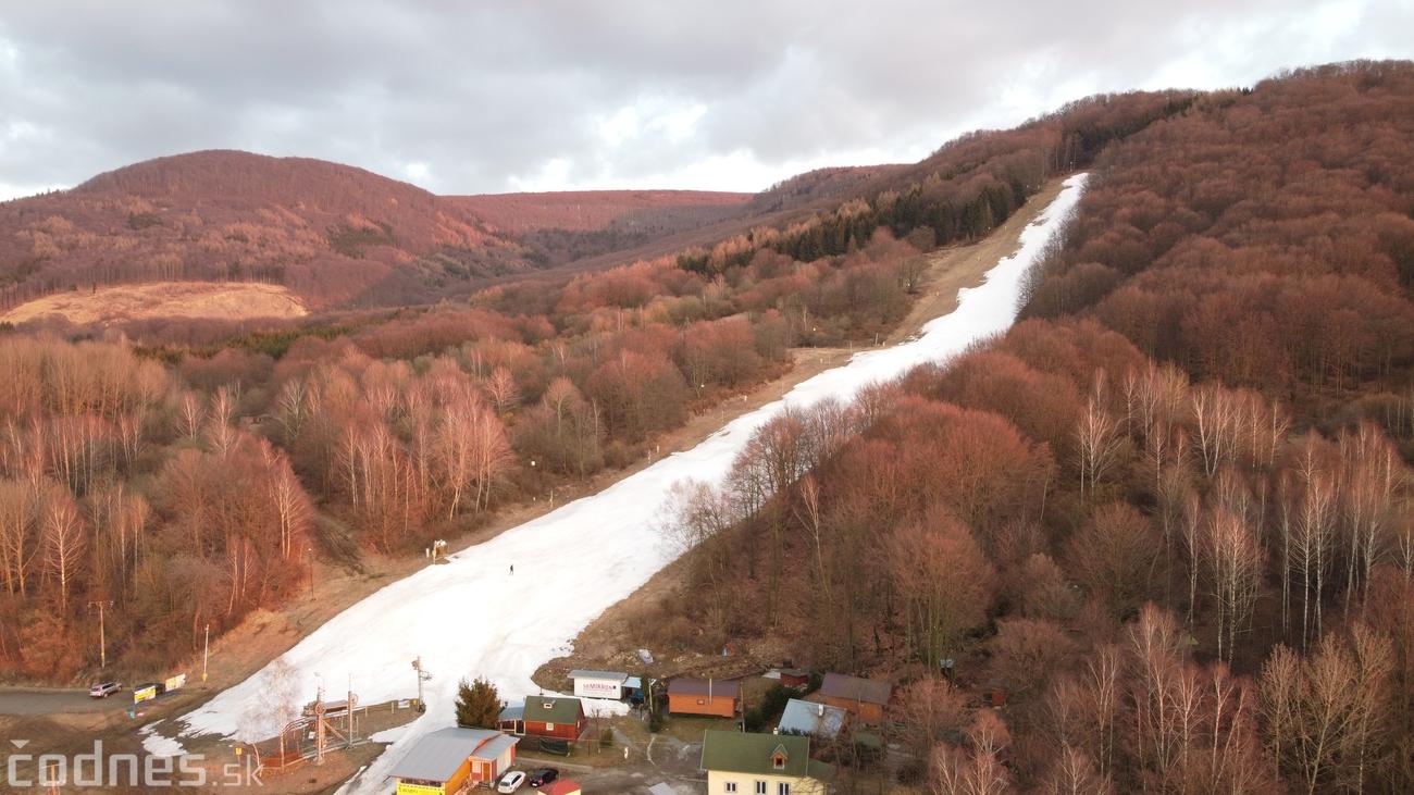 Foto: Cigeľ - lyžiarske stredisko - západ slnka - tip na výlet - túra