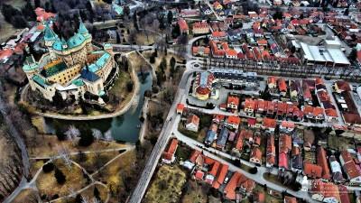 Foto: Bojnický zámok - Bojnice - Jar 2021