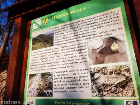 Foto a video: Hajská skala - Ráztočno - okres Prievidza - tip na výlet - túra 16